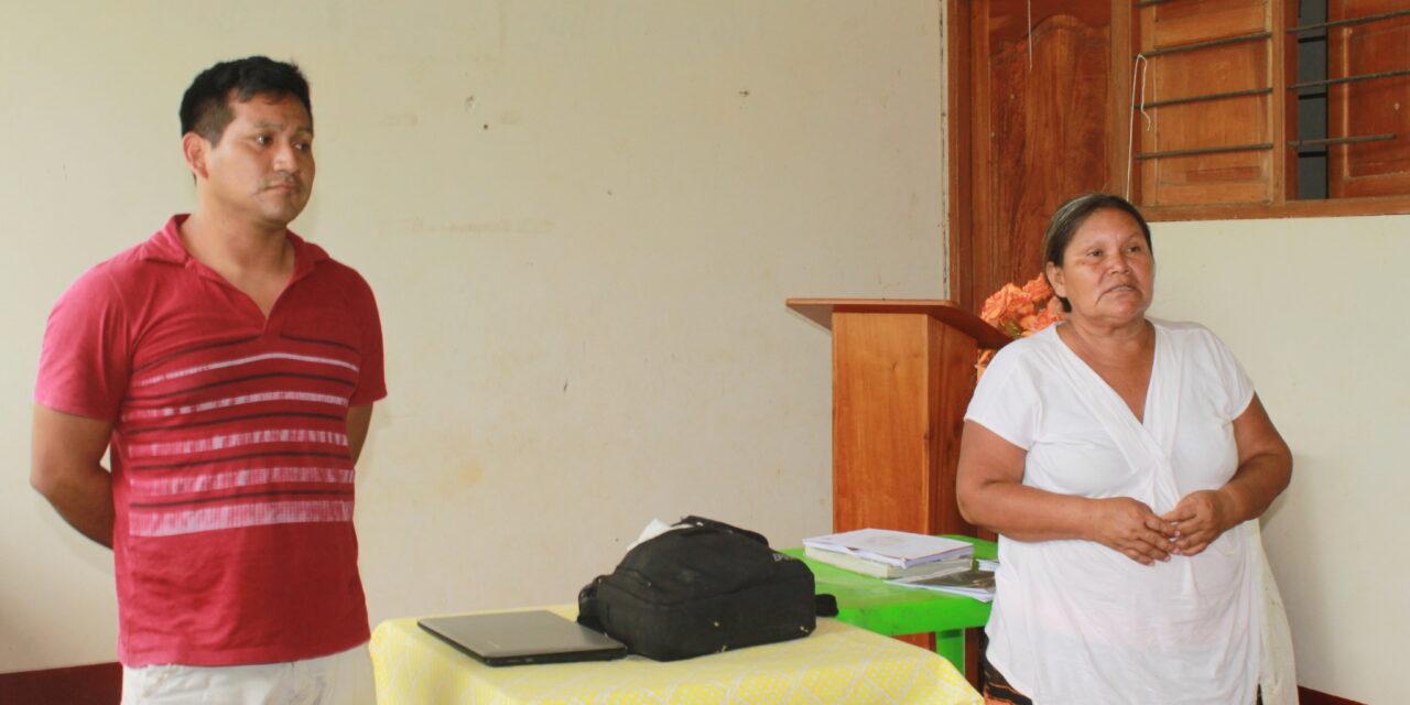 Nueva directiva del ECA Amarakaeri realiza primera visita a comunidades nativas de la RCA