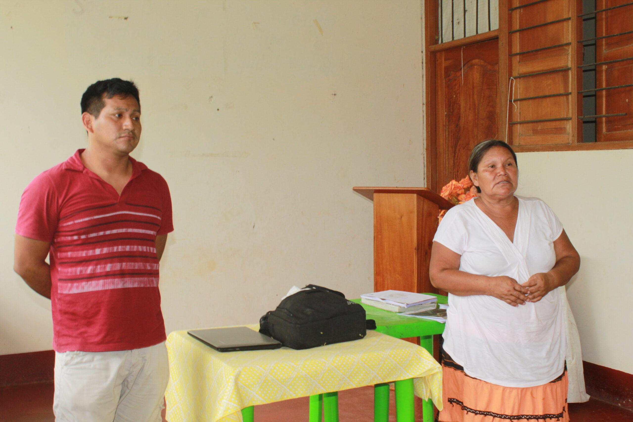 Los directivos del ECA Amarakaeri participaron en las asambleas comunales donde se informó de la política de trabajo de la cogestión y las comunidades socias