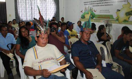 Comunidades de Amarakaeri reciben financiamiento para actividades económicas sostenibles