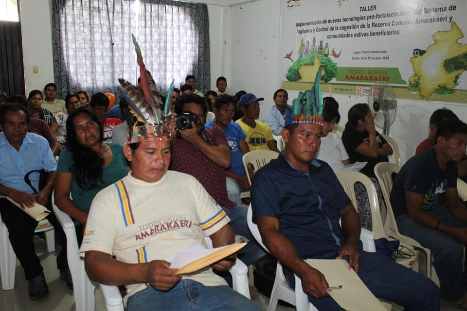 En la ciudad de Puerto Maldonado el Día 6 de Abril, se llevo a cabo la reunión con Comunidades nativas socias de laReserva Comunal Amarakaeri, el cual reciben financiamiento en el marco del cumplimiento de los acuerdos de implementación de los planes de vida articulados al Plan Maestro 2016-2020 a través del Programa de actividades económicas sostenibles