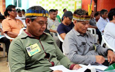 CCNN socias de Amarakaeri presentan avances del Programa de Actividades Económicas Sostenibles en la RCA