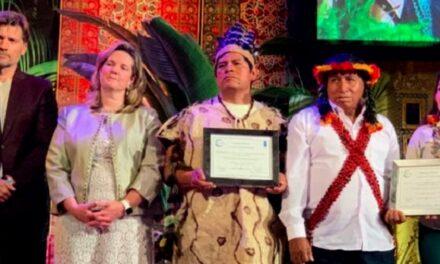 ECA Amarakaeri ganó premio Ecuatorial por enfrentar al cambio climático