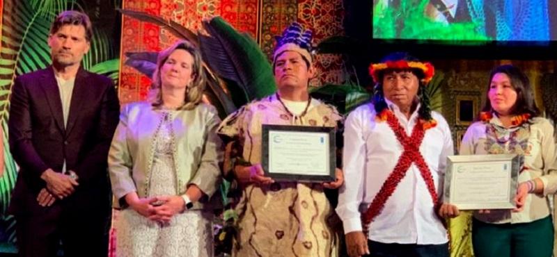 Uno de los logros más importantes del ECA Amarakaeri fue recibir el Premio Ecuatorial 2019. Durante el anuncio del galardón internacional, el PNUD calificó a Amarakaeri como un modelo de cogestión entre el Estado y Pueblos Indígenas en el que se ejecutan acciones para la adaptación y mitigación al cambio climático.