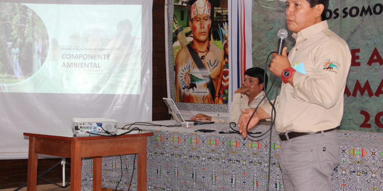 Aprueban informe anual de gestión del ECA Amarakaeri