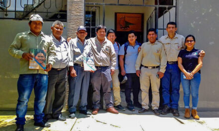 ECA Amarakaeri y Sernanp comparten su experiencia de cogestión exitosa de gobernanza territorial con representantes de la Federación Nativa del bajo Putumayo de Loreto