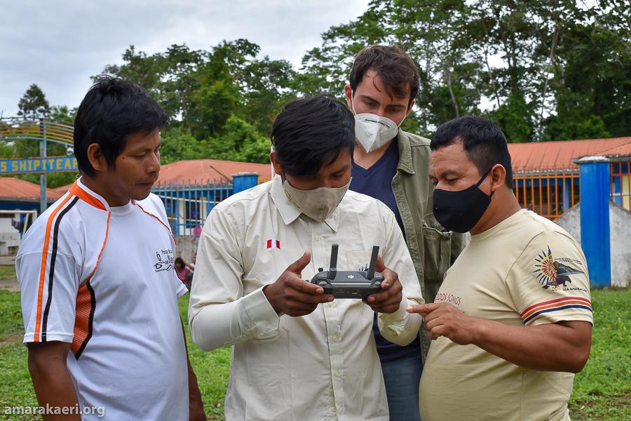 Cogestión de Amarakaeri sigue fortaleciendo el sistema de Vigilancia y Control con el uso de herramientas tecnológicas