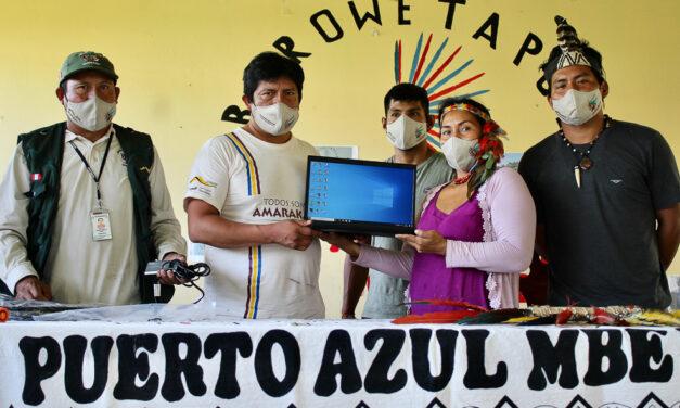 Amarakaeri fortalece la comunicación en tiempos de pandemia