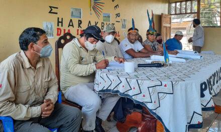 Cogestión de Amarakaeri, Puerto Azul Mberowe y ACCA acuerdan sumar esfuerzos para la conservación y vida plena