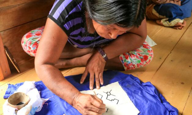 Comunidad nativa Diamante del pueblo Yine