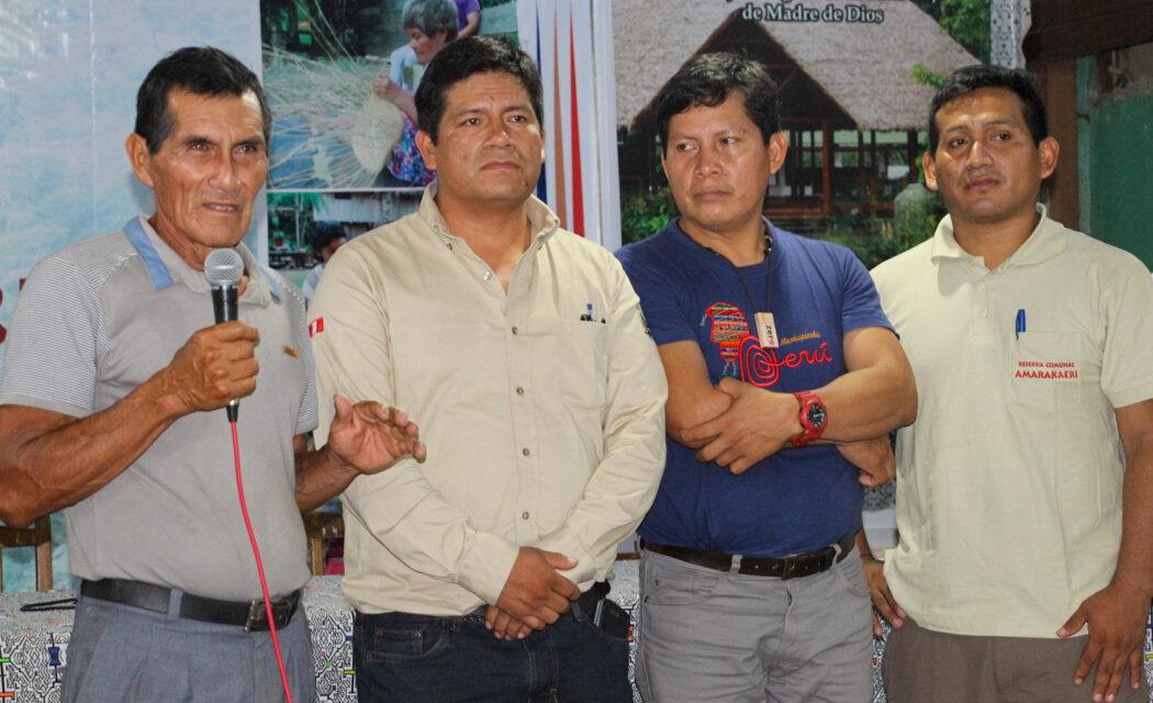 ECA Amarakaeri continuará ejecutando acciones sostenibles y amigables con el bosque en beneficio de CCNN socias de la RCA