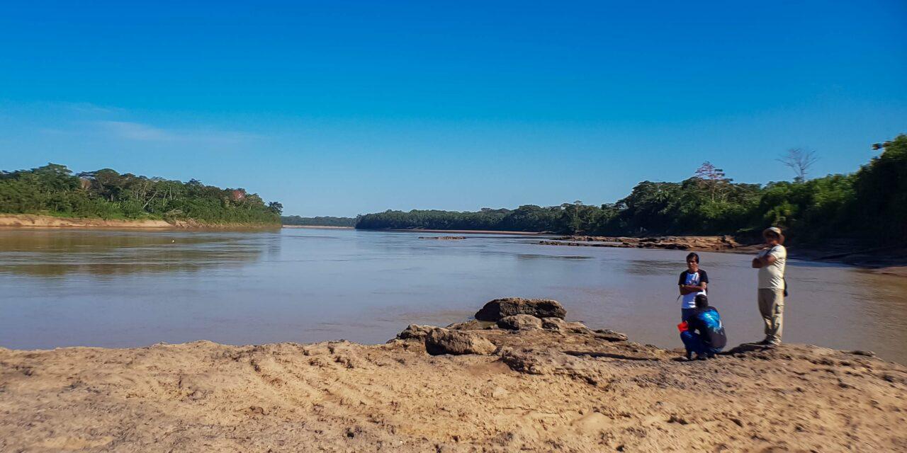 La cabecera de la cuenca del río Colorado se encuentra libre de minerales pesados