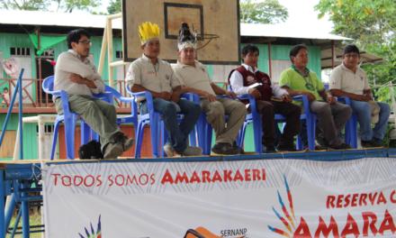 Suscriben acta de compromiso para implementación de RIA en Amarakaeri