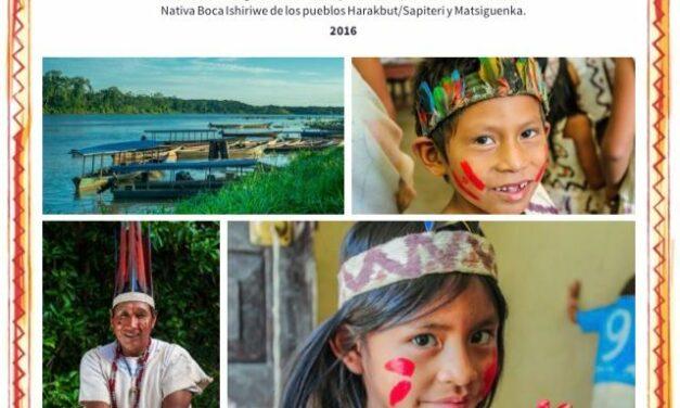 Plan de Vida Plena y Gobernanza Territorial de la Comunidad Nativa Boca Ishiriwe