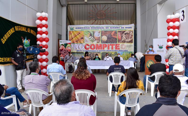 El Procompite 2020 resultaron ganadores 36 AEO. Cuatro son comunidades nativas. Tres de ellas son comunidades socias de la Reserva Comunal Amarakaeri: Shintuya, Barranco Chico y Diamante